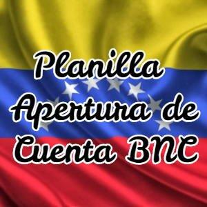 Apertura de Cuenta BNC