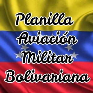 Planilla de Pago de la Aviación Militar Bolivariana