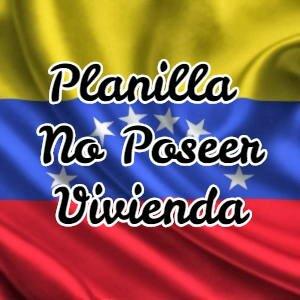 No Poseer Vivienda