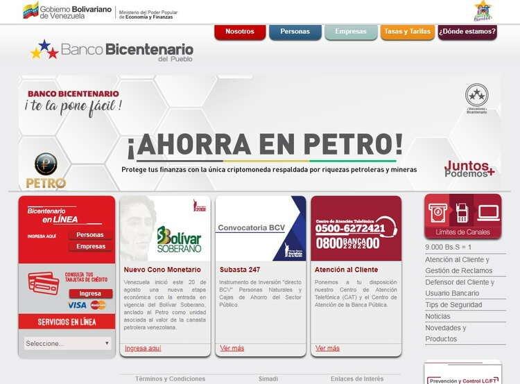 Planilla del banco bicentenario Credinomina Apertura de nómina
