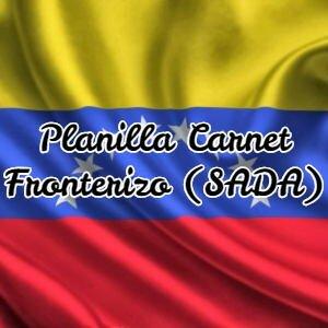 Planilla Carnet Fronterizo (SADA)