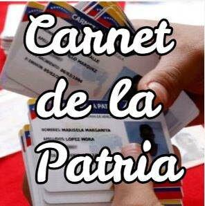actualizar carnet patria
