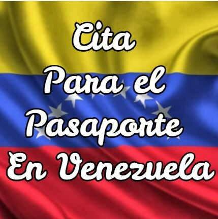 Cita Para el Pasaporte En Venezuela