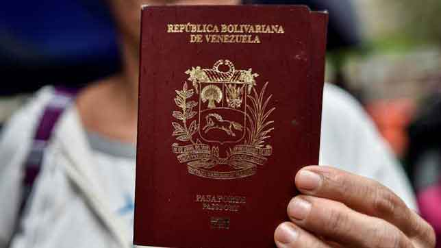 como pedir cita pasaporte venezolano