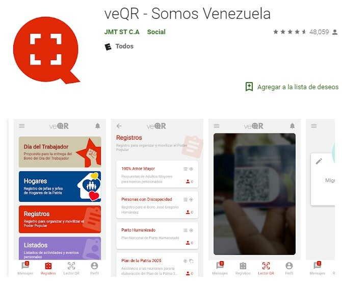 descargar Planilla de Somos Venezuela