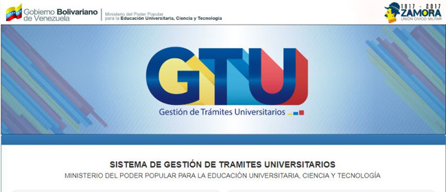 requisitos y pasos para registrarse en el GTU