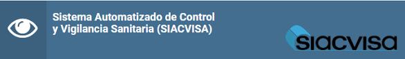 Sistema automatizado de control y vigilancia sanitaria SIACVISA