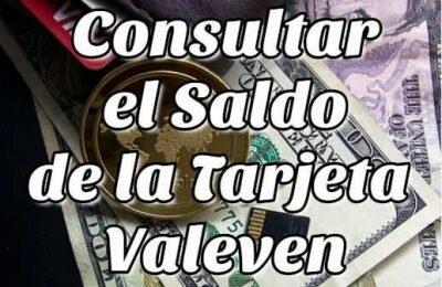 Cómo Consultar el Saldo de la Tarjeta Valeven