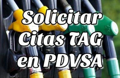 Cómo Solicitar Citas TAG en PDVSA Táchira en Línea