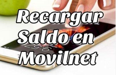 Cómo recargar y transferir saldo en Movilnet