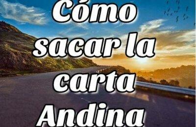 Cómo sacar la carta Andina en Venezuela