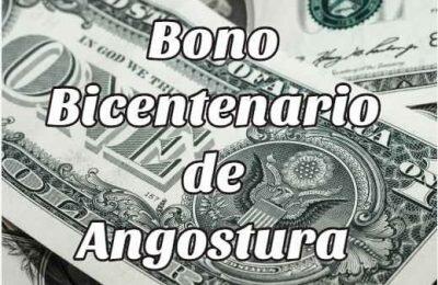 Cómo obtener el bono del Bicentenario de angostura en Venezuela