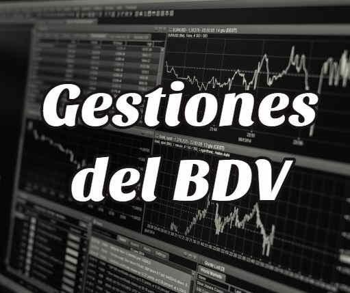 Cómo Realizar Gestiones del BDV